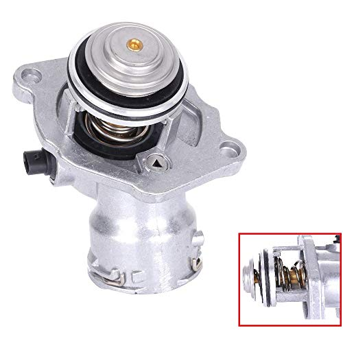 Thermostat for Mercedes Benz C230 C280 C300 C350 E350 ML350 SLK350, with Housing