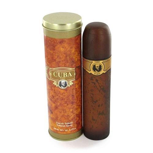 Cuba Gold Cologne For Men by Cuba by Cuba Parfum