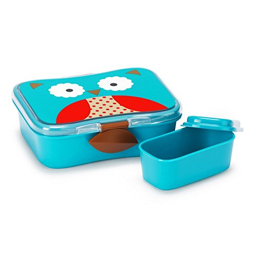 - Skip Hop Baby Zoo Little Kid and Toddler Mealtime Lunch Kit Feeding Set, Multi, Otis Owl
