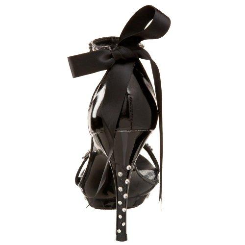 Pleaser Sandalette MONET-12 - Schwarz 38,5 EU