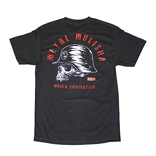 Metal Mulisha Men's Inked Short Sleeve T Shirt Black 4XL