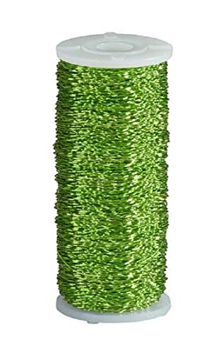 Bullion Wire - Single Roll - Green