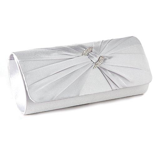S Anladia Pour Pochette Blanc Femme xYOZx