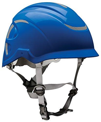 MSA 10186490 Nexus Height Master Climbing Vented Helmet, Blue