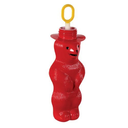 Pustefix Magic Bubble Bear Red (Bear Bubble)