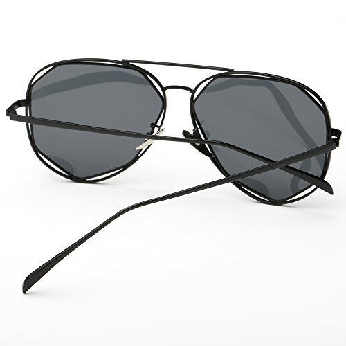 Lunette SRANDER soleil Femme Rahmen Objektiv schwarz de grau TvvCdHq