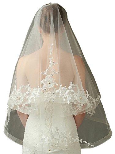 LynnBridal Single Wedding Appliques Semi Waltz product image