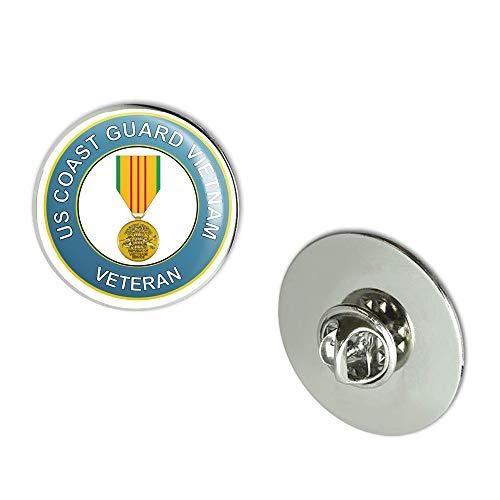 Veteran Pins U.S. Coast Guard Medal Vietnam Metal 0.75