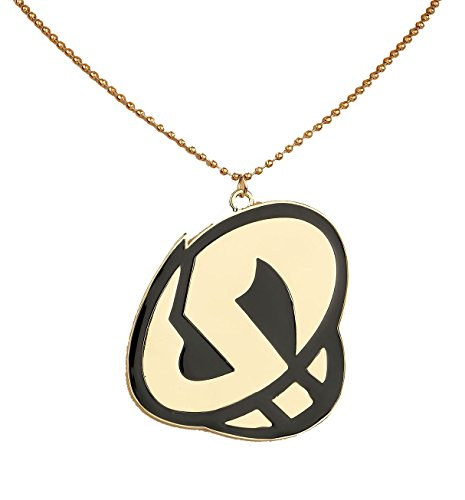 Skull Necklace Deluxe Alloy Fancy Team Pendant Cosplay Accessory Xcoser G