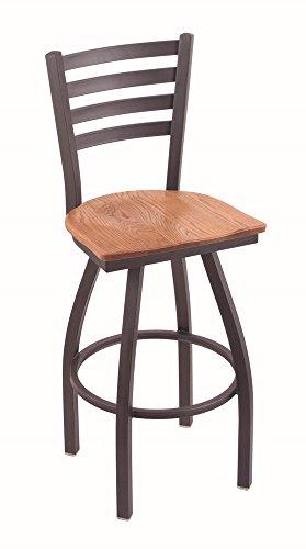 Holland Bar Stool Co. 41036PWMedOak 410 Jackie Bar Stool, 36