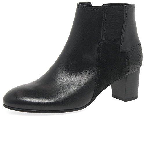 Gabor Women's Comfort Basic Ankle Boots Black (Schwarz (Micro) 87) Qf2jl