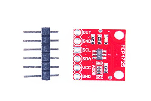 KNACRO MCP4725 12 Bit I2C DAC Module Development Board Breakout Board for Arduino