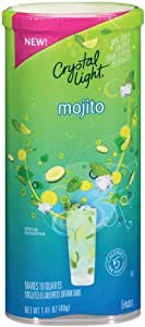 Crystal Light Mocktails Mojito, 1.41-Ounce (Pack of 4)
