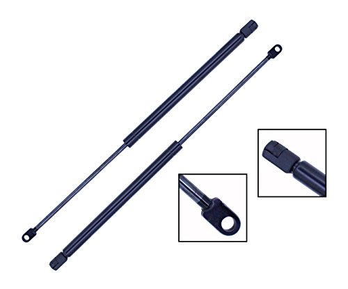 - 2 Pieces (SET) Tuff Support Hatch Lift Supports 1989 To 1992 Ford Probe with Wiper & Spoiler