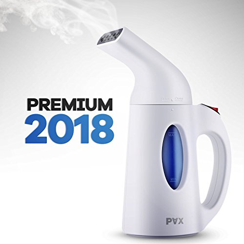 PAX Portable Clothing Steamer, New Design, Powerful, Travel and Home Handheld Garment Steamer, 60 Seconds Heat-Up, Fabric Steamer With Automatic Shut-Off Safety Protection