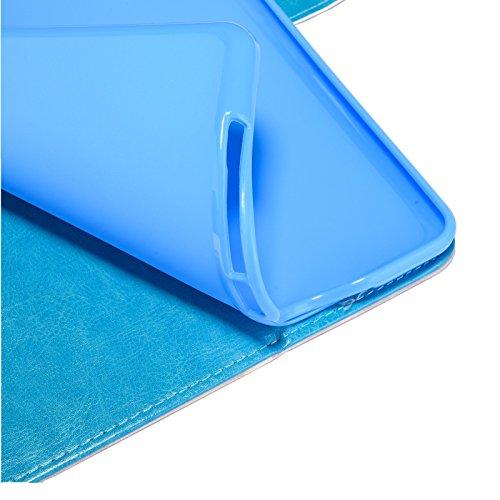 inShang iPad iPad air / iPad 5 Fundas soporte y carcasa para iPad iPad air ((2013 Release) , smart cover PU Funda + clase alta 2 in 1 inShang marca negocio Stylus pluma Colorful diamond