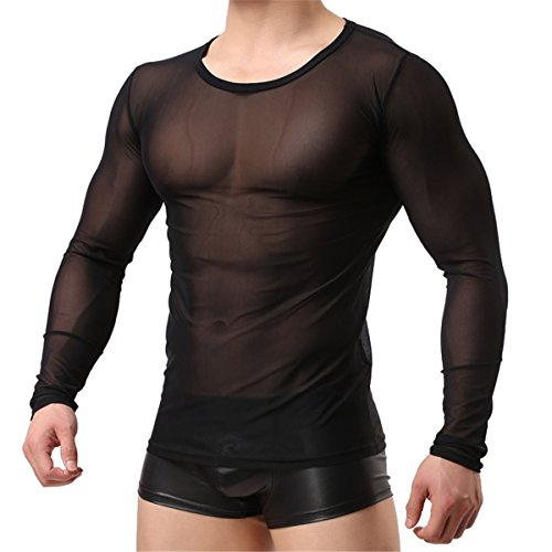 52af67c8984 YouBin Sexy Men's Underwear Shirts T-Shirt Tank Top Fishnet Clubwear Mesh  Undershirt - Buy Online in Oman. | Apparel Products in Oman - See Prices,  ...