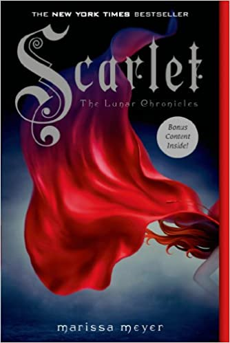 Image result for scarlet marissa meyer cover amazon