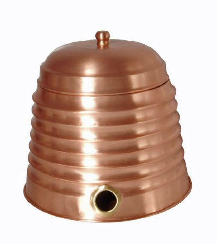 Madhu's COLLECTION - MG Décor Water Hose Pot in Copper Fi...