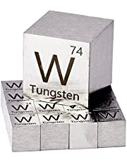 Luciteria Tungsten Metal 10mm Cube 99.95% Pure for Element Collection