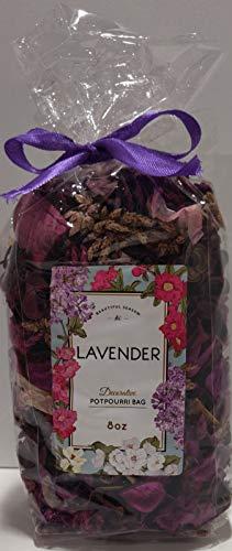 아름다운 계절 장식 포푸리 가방-8 온스(라벤더)