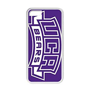 NCAA Central Arkansas Bears Wordmark 2009 White For HTC One M8 Phone Case Cover