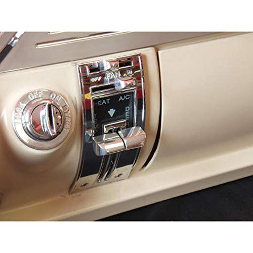 (Eckler's Premier Quality Products 57286070 Chevy Billet Aluminum Heater Control Knobs)