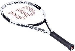 Wilson Herren Tennisschläger Hammer 6, white-glossy, L4