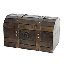 Vintiquewise Old Style Barn Wood Trunk/Box