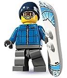 LEGO Figurines à Collectionner: Snowboarder Homme Mini-Figurine (Série 5)