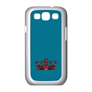 Deadpool Guns Samsung Galaxy S3 9300 Cell Phone Case White toy pxf005_5879256