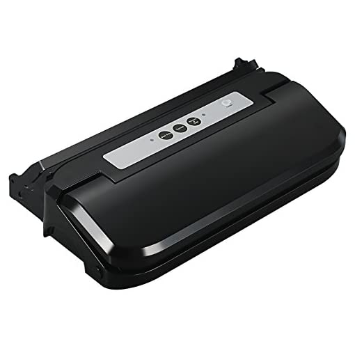 Pictek Vacuum Sealer, Easy One-Touch 2-in-1 Sealing System Machine