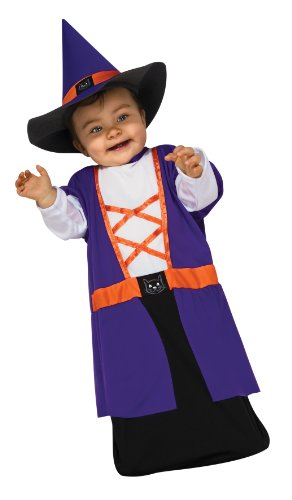 Rubie's Costume Tyke Or Treat Baby Bunting Costume Witch, Witch, 0-9 Months