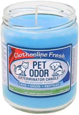 """Pet Odor Exterminator Candle /"""" Sippin Sangria /"""""""