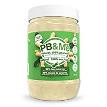 PB&Me Natural: 100 Percent Peanuts Powdered Peanut Butter (Sugar-Free) 453 grams