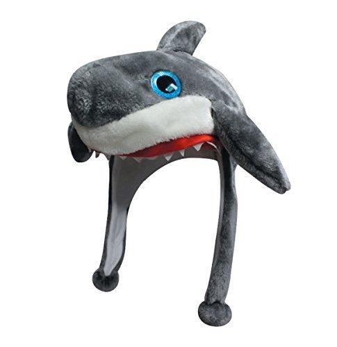 - Dakota Dan Big Eye Critter Slick Shark Animal Beanie Hat - Cute Crazy Zoo Hats For Adults and Kids - Christmas Holiday Gift Ideas