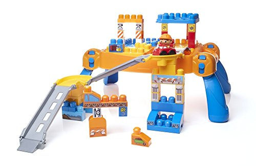 Mega Bloks First Builders N' Go Table Building Set