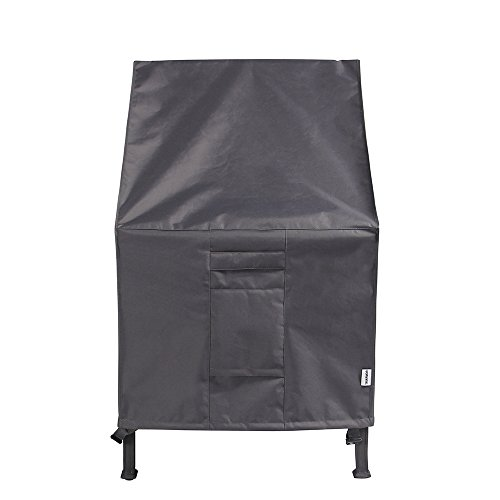 TRIARMOR High Back Patio Chair Cover Waterproof Outdoor Chair Cover