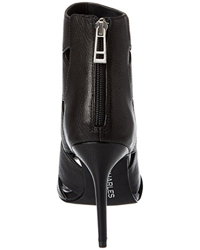 Leather Black 8 Reform David Bootie By Womens Us Pumps Charles wxn1XOTqgO