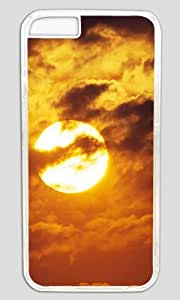 Moon DIY Hard Shell Transparent Designed For iphone 6 plus Case