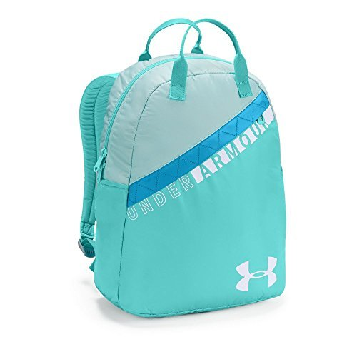 Under Armour Girls Favorite Backpack 3.0, Tropical Tide (425)/White, One Size [並行輸入品] B07F4PDS8N
