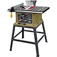 "ROCKWELL/WORX SS7202 4500 rpm 120VAC 13 Amp Rockwell Bench Top Table Saw Leg Stand with 10"" Blade"