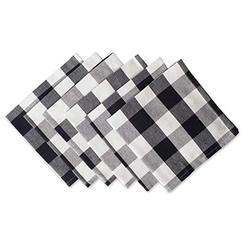 Xiabing Buffalo Check Plaid Cloth Dinner Napkin for Everyday Place Settings, Farmhouse D¨¦cor, Family Dinners, BBQ's…