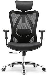 Sihoo Ergonomics Office Chair Recliner Chair,Computer Chair Desk Chair, Adjustable Headrests Chair Backrest an