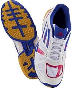 adidas dames indoorschoen Speedcourt Pro W wit / blauw / roze, maat: 39