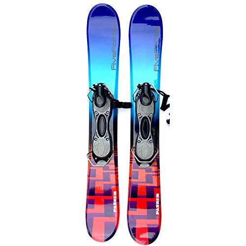 anzer 75cm Skiboards Snowblades with ski boot bindings 2018 ()
