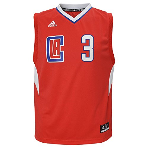 adidas NBA Los Angeles Clippers Chris Paul #3 Men's Replica Jersey, Medium, Red by adidas