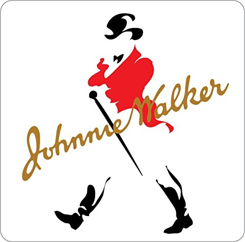 Edwin Group of Companies JOHNNIE WALKER Sticker Decal Whiskey Scotch Alcohol Bar Wall (6