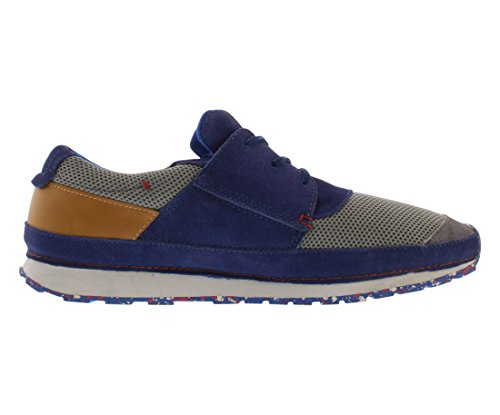 Levis Mens City Runner Fashion Sneaker Grigio Scuro / Blu Scuro