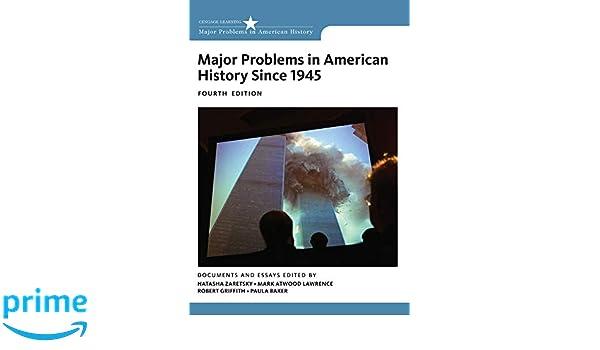 Major Problems in American History Since 1945: Amazon.es ...